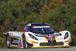 IMSA Race report Track break-up blights Petit Le Mans at half-distance
