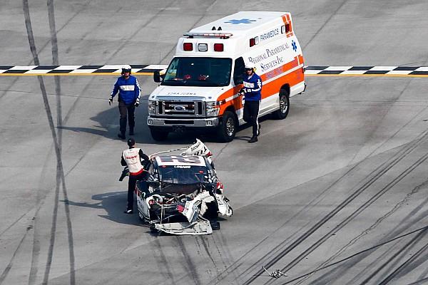 NASCAR XFINITY Logano walks away from crash: Sadler knew