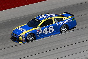 NASCAR Sprint Cup Practice report Jimmie Johnson tops opening Southern 500 practice at Darlington