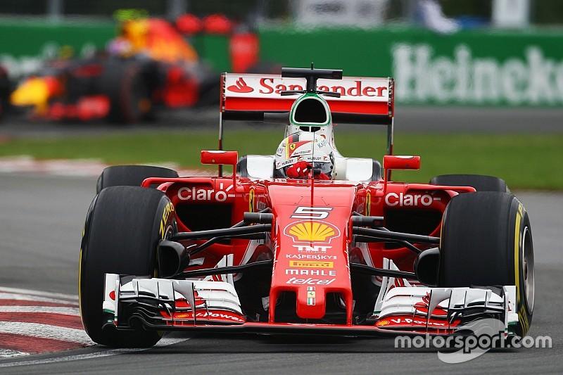 Vettel hails performance of Ferrari updates