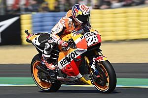 MotoGP Practice report Le Mans MotoGP: Pedrosa heads Lorenzo in FP1