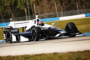 IndyCar Testing report Rookies get valuable seat time at Sebring test