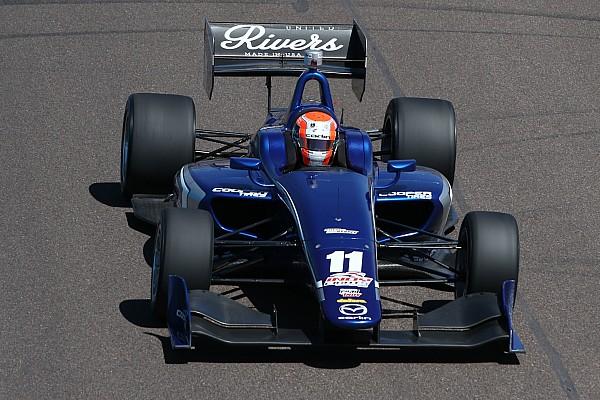 Indy Lights Rain sets Indy Lights grid by points