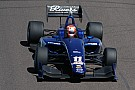 Indy Lights Rain sets Indy Lights grid by points
