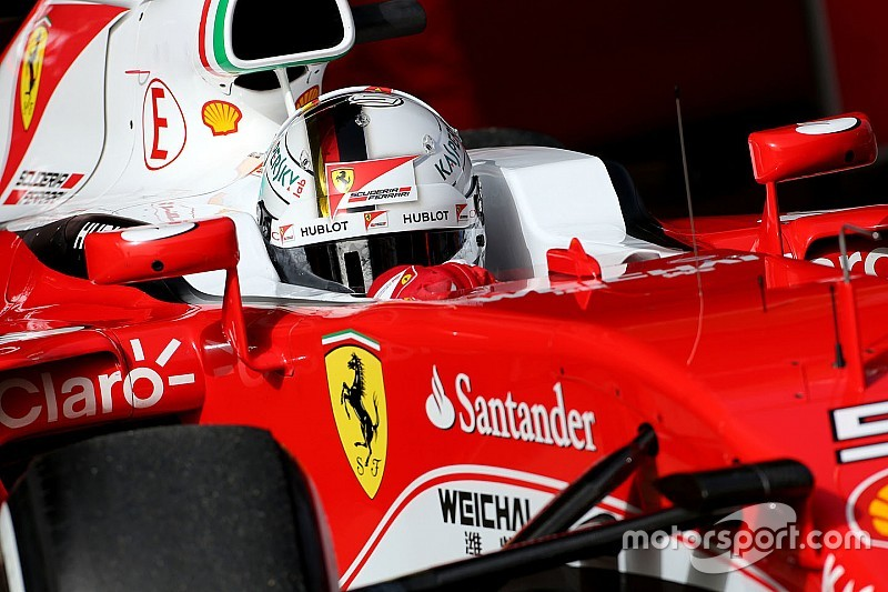 Vettel says new Ferrari a