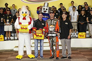 NASCAR Sprint Cup Qualifying report Harvick edges Bowman for Charlotte pole