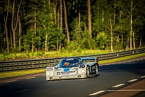 Vintage Race report Zak Brown sweeps Porsche 962 to class victory at Le Mans Classic