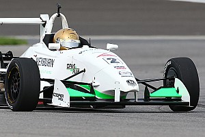 USF2000 Race report Thompson win strengthens USF2000 points lead