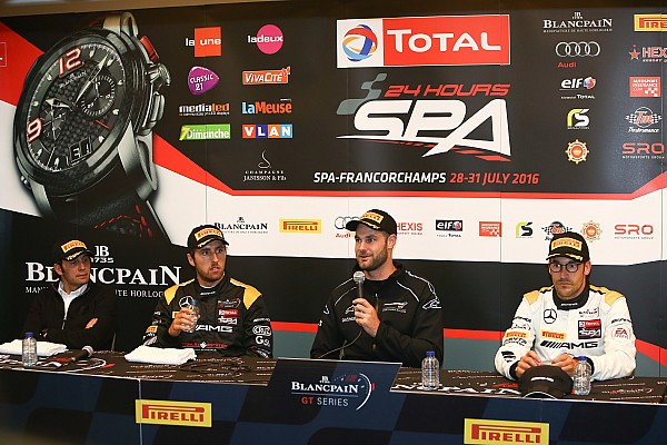 Blancpain Endurance Van Gisbergen: Spa pole lap close to Bathurst