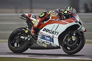 MotoGP Practice report Qatar MotoGP: Iannone edges Marquez in second practice