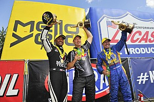 NHRA Race report Brown, Capps and Anderson conquer New England