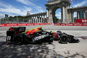 IndyCar Practice report Bourdais leads warm-up, other aces stumble