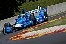 IndyCar Kanaan leads Ganassi 1-2 in third practice at Road America