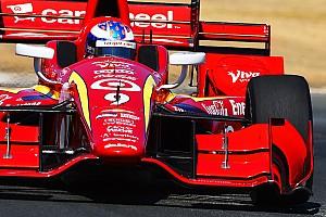 IndyCar BRÉKING Az IndyCar is dolgozik a fej védelmén, nem csak a Forma-1