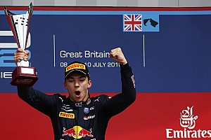 GP2 Breaking news Gasly dedicates maiden GP2 win to hospitalised mother
