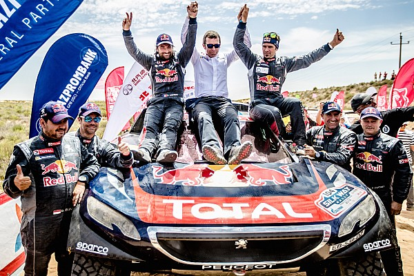 Cross-Country Rally Leg report Peugeot and Despres victorious in Silk Way Rally