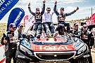 Cross-Country Rally Peugeot and Despres victorious in Silk Way Rally