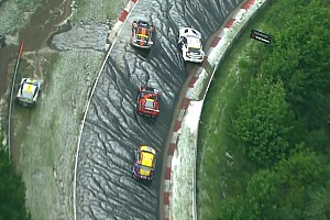 Nurburgring 24 Hours: Race halted by hailstorm drama