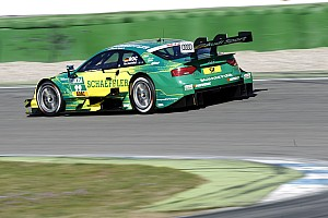 DTM Testing report Rockenfeller leads Audi 1-2-3 on final day of Hockenheim test