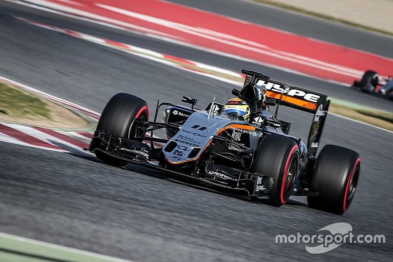 Perez denies Force India is