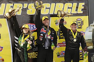 NHRA Breaking news Shock winners in nitro classes at Phoenix