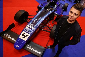"""Other open wheel Interview Max Fewtrell: MSA Formula title the """"expectation"""""""