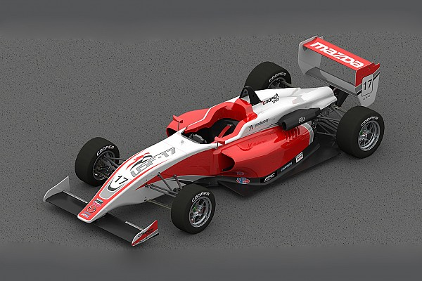 USF2000 New USF2000 car to start testing in June