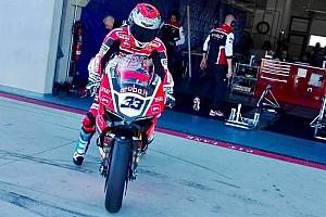WSBK Test Test di Aragon, Day 1: Melandri debutta sulla Ducati. Problemi per Rea