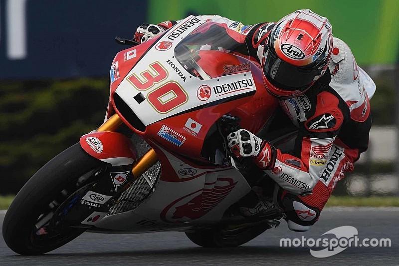 脱臼した中上「痛みはあるが、良いペースでレースをできる自信がある」:Moto2オーストラリア