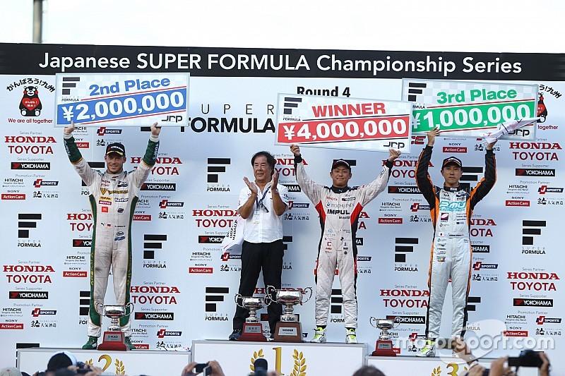 関口がデビュー4戦目でSF初優勝。トヨタエンジントップ5独占
