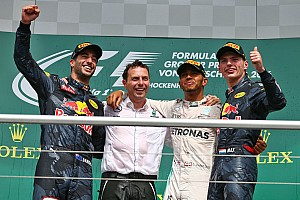 Formula 1 Race report German GP: Hamilton wins, Rosberg penalised for Verstappen pass
