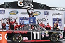 NASCAR Truck Moffitt wins first Truck race with bold last-lap pass