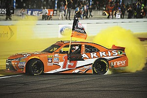 NASCAR XFINITY Race report Suarez makes history as first ever foreign-born NASCAR Xfinity champion
