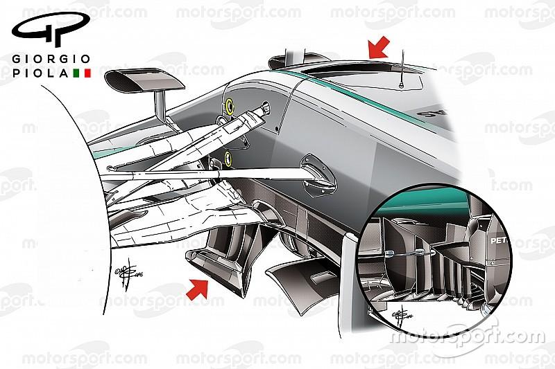 Технічний брифінг: безпрецедентні оновлення Mercedes