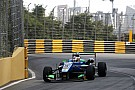 Macau GP: Da Costa grabs provisional pole as crashes mar session