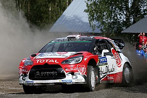 WRC Leg report Finland WRC: Meeke concludes Saturday with 41-second lead