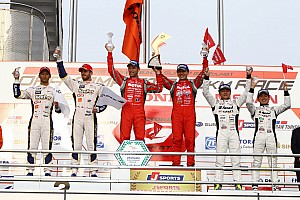 Super GT Race report Tsugio Matsuda and Ronnie Quintarelli shows their champion prowess at Okayama