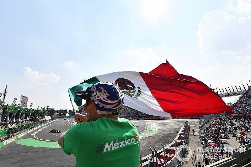 Checo Pérez abandonó Gran Premio de México
