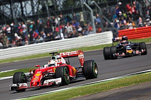 Formula 1 Breaking news Toro Rosso matched Ferrari's pace at Silverstone, says Kvyat