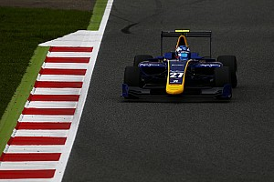 GP3 Qualifying report Barcelona GP3: Hughes leads Jorg in all-DAMS front row