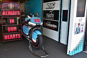 Moto2 Breaking news Salom family thanks MotoGP community for support