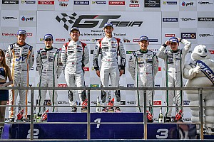 Asian GT Race report GT Asia Series victory for Phoenix Racing Asia in Thailand
