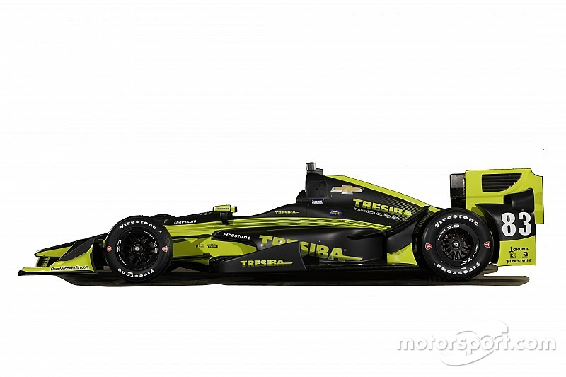 New livery for Kimball's Ganassi IndyCar