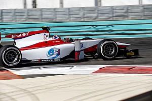 GP2 Отчет о тестах Дебютант Элбон стал быстрейшим во второй день тестов GP2