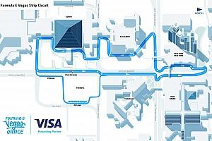 Formula E Vista previa Video: Así es la pista virtual para la Vegas eRace