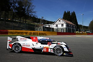 WEC Practice report Spa WEC: Toyota tears up form book to lead FP2