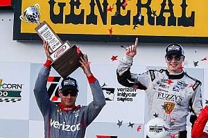 """IndyCar Breaking news Power says Newgarden was """"obvious"""" choice for Penske"""