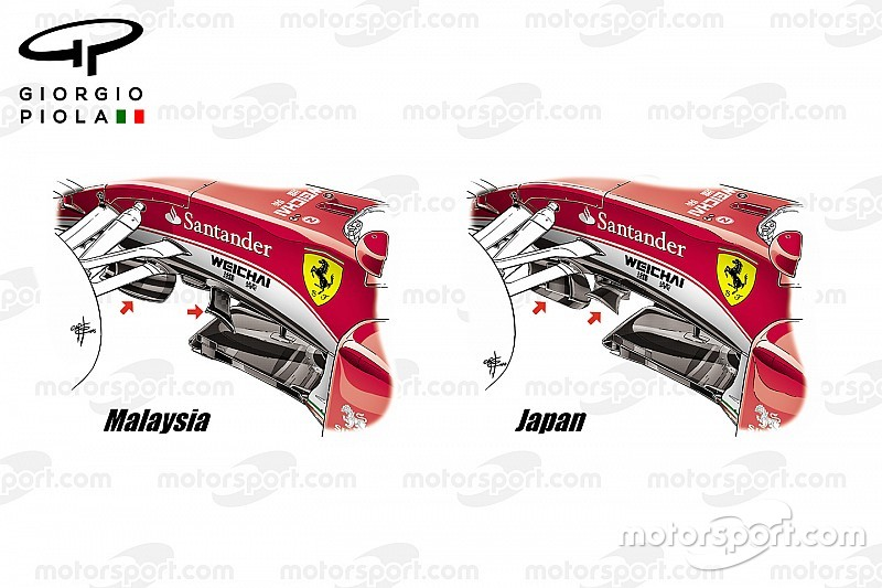 Bite-size tech: Ferrari SF16-H splitter winglet