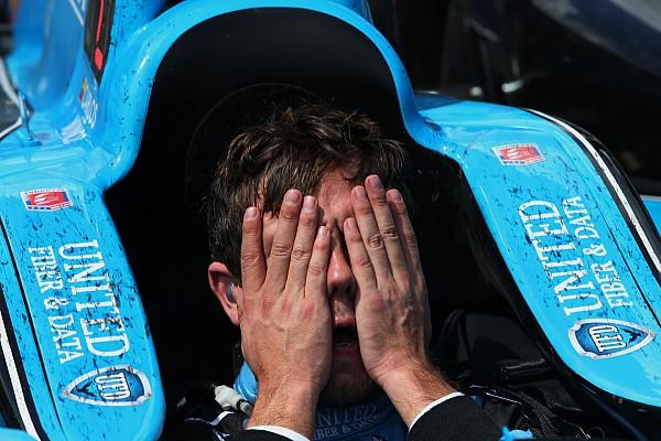 IndyCar Munoz emotional after tough loss: