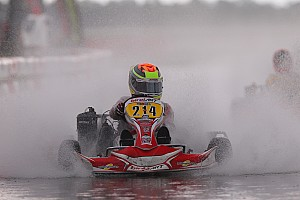 Kart Breaking news Rain interrupts Saturday Florida Winter Tour action